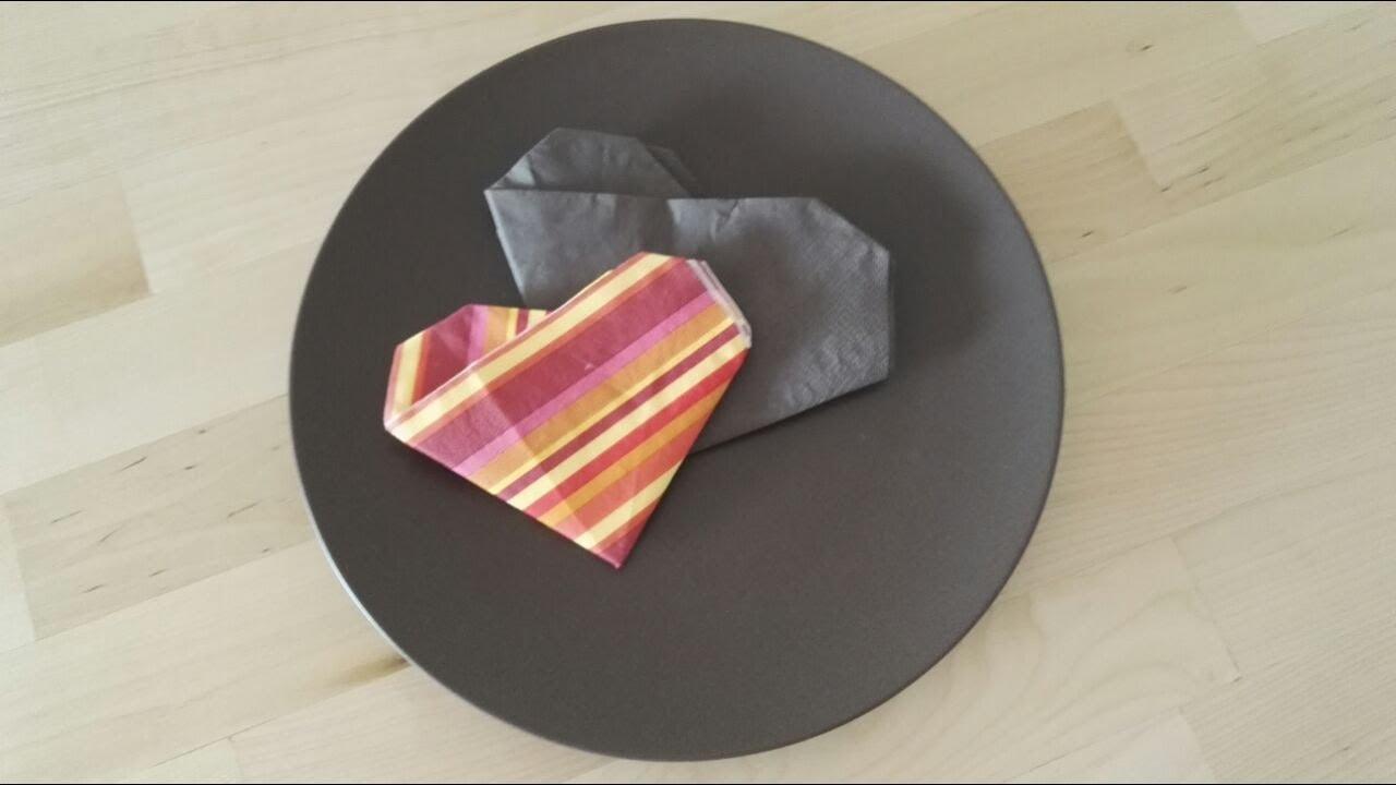 servietten falten einfach und schnell f r feiern und hochzeit youtube. Black Bedroom Furniture Sets. Home Design Ideas