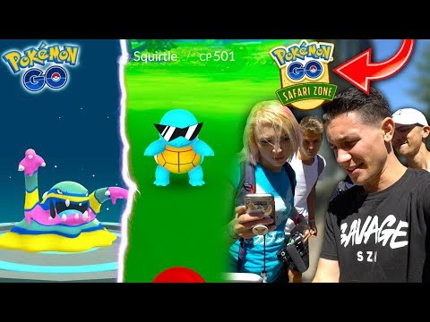Safari Zone: What Happened? EVOLVING TO NEW ALOLANS + SQUIRTLE SQUAD EVENT / SHINY ARTICUNO!