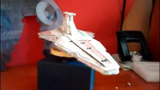 star wars en papel y plastificados (papercraft)