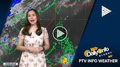 PTV INFO WEATHER: Easterlies, magdadala ng maiinit at maalinsangang panahon sa bansa
