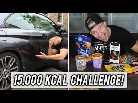 15.000 CALORIEËN CHALLENGE | Dit loopt slecht af..
