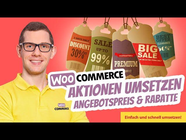 WooCommerce Shop Aktionen Aktionspreise Rabatte ganz einfach umsetzen mit dem Bulk Edit 🛍