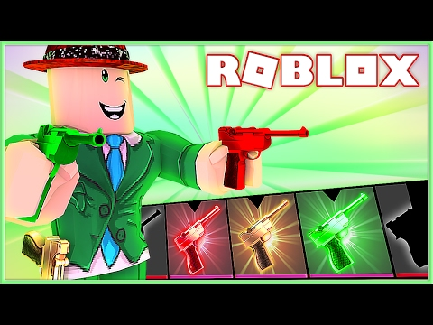 ALL THE LUGER GODLY GUNS IN MURDER MYSTERY 2 | Roblox