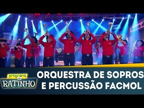 Orquestra De Sopros E Percussão Facmol | Programa Do Ratinho (03/01/18)