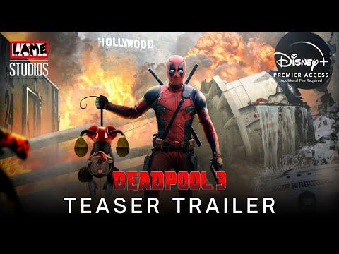 DEADPOOL 3 (2023) | Teaser Trailer | Marvel Studios & Disney+