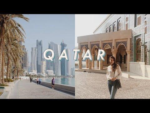 a day in doha, qatar | travel vlog