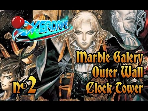 Castlevania SotN - Parte 2 - Marble Galery, Outer Wall e Clock Tower