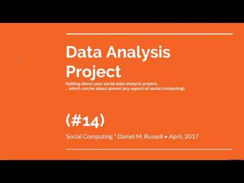 Lecture #14 for Social Computing class (U. Zürich) April 7, 2017