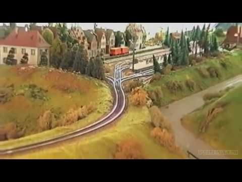The Biggest Modular Design Railway İn H0 Scale Of Globe 1995 & Final At Any Time Chris Moyles