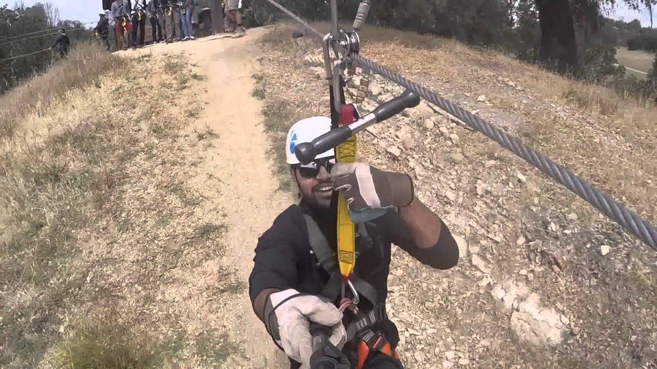 Ziplining Santa Margarita