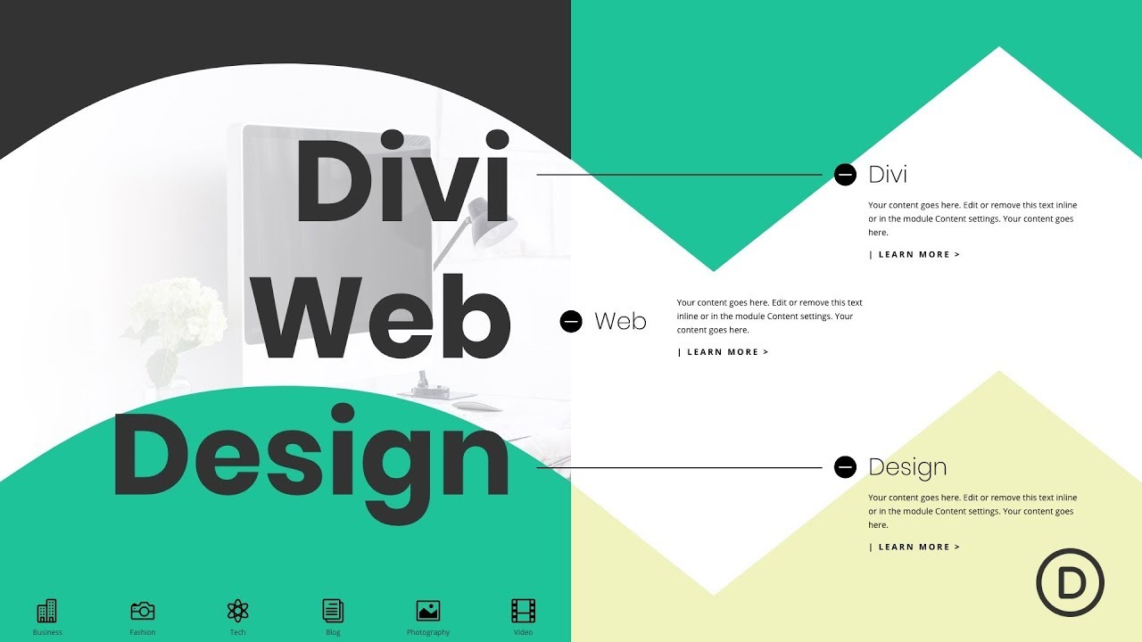 How to Create a Full Split-Screen Layout with Unique Toggles in Divi