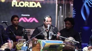 Ustad Rahat Fateh Ali Khan @ IIFA Rocks in Tampa 2014