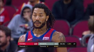 Derrick Rose Full Play vs Houston Rockets | 12/14/19 | Smart Highlights