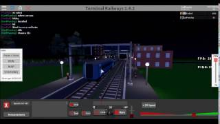 ROBLOX | Terminal Railways | My 153! (Derailed 158)