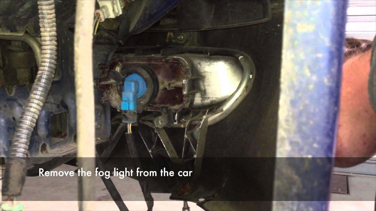 Peugot 406 Front Bumper Headlight And Wing Removal Youtube