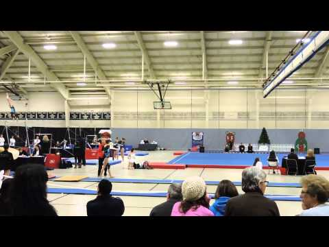 Emily Carey~Northeast Gymnastics Academy~2014 Christmas City Classic~Vault