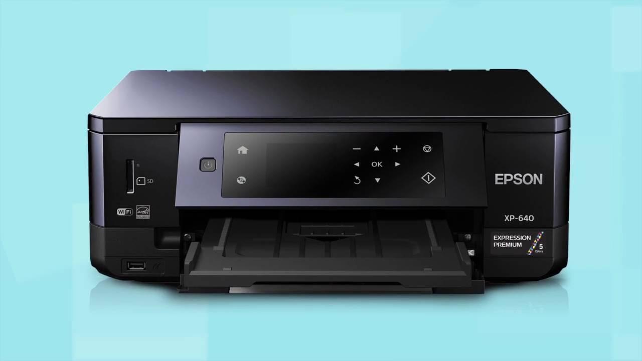 Epson Xp 640 Printer Setup Connecting Printer To A