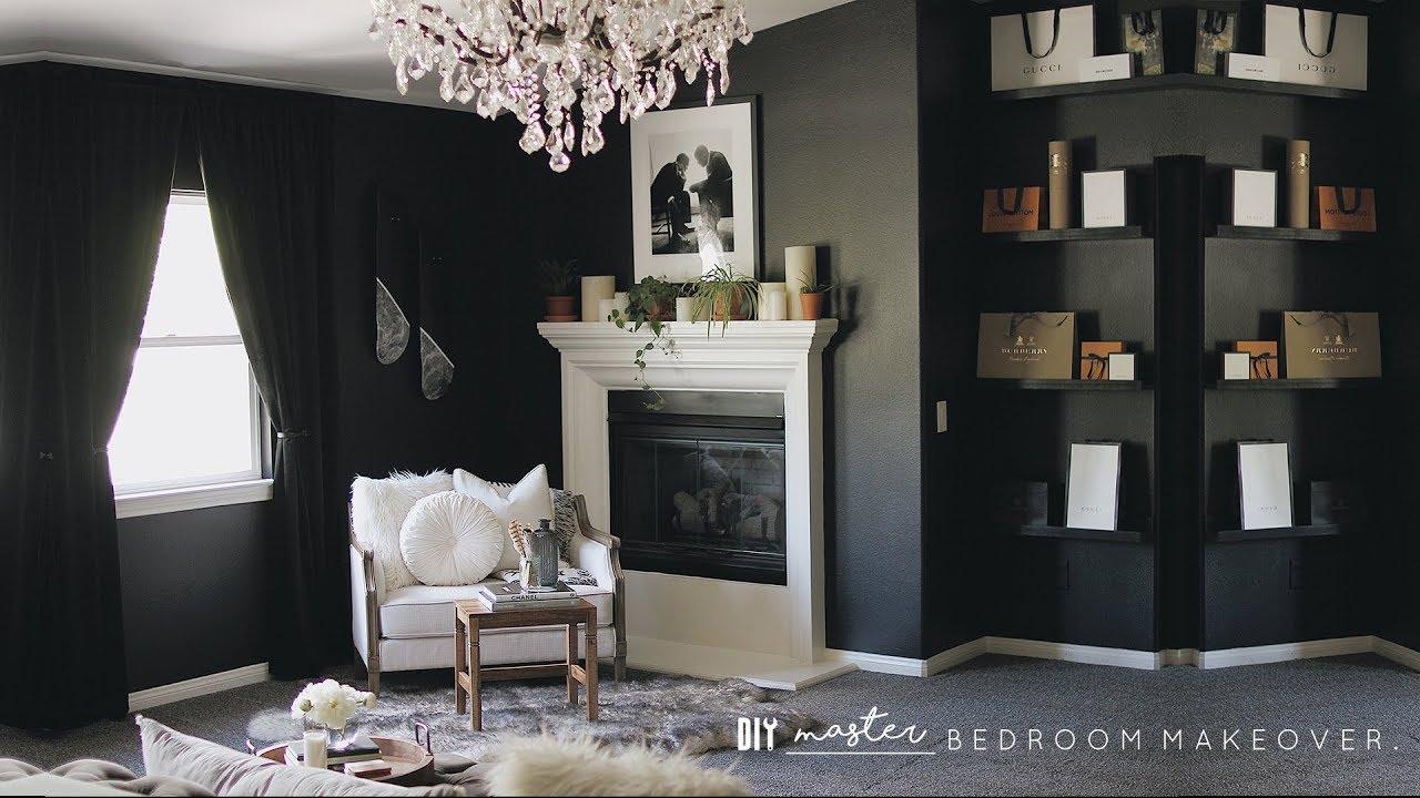 Diy Master Bedroom Makeover Youtube