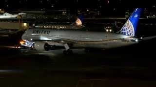 United Airlines first 787-9 Dreamliner (N38950) welcome home! Inaugural landing at Houston KIAH!
