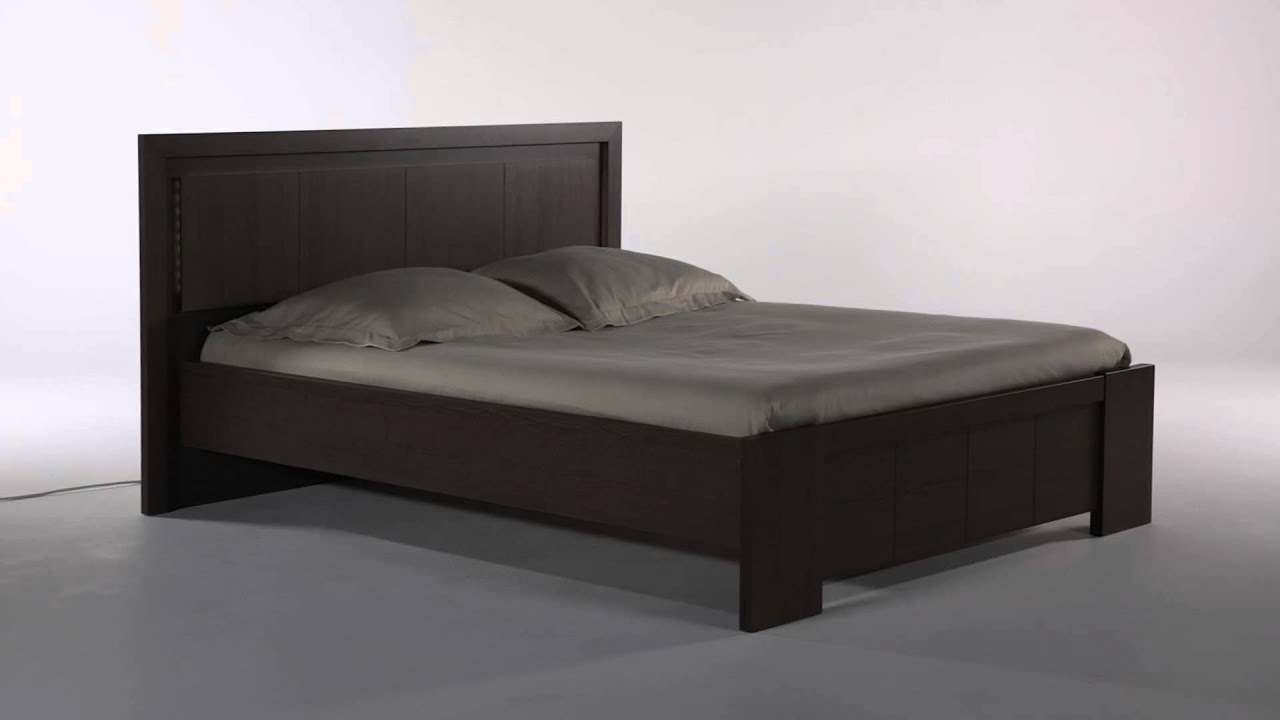 lit 2 places t te de lit led belem but youtube. Black Bedroom Furniture Sets. Home Design Ideas