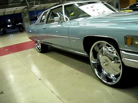 73 Cadillac coupe deville - YouTube