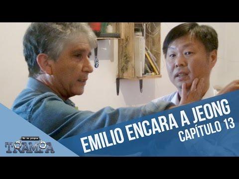 Emilio encara al acosador coreano   En su propia trampa