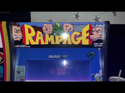 Arcade1Up Raspberry Pi Mod Complete from Robotical Halloween 2