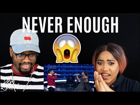 Maria - Never Enough Spekta Show Top 7 - Indonesian Idol 2018| REACTION