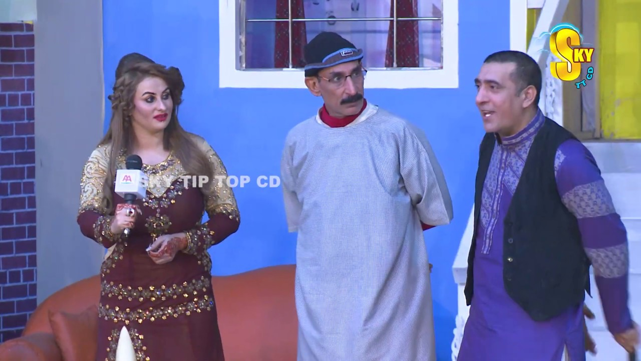 Zafri Khan and Afreen Khan with Iftikhar Thakur Drama Mastiyan Full Comedy Clip 2019