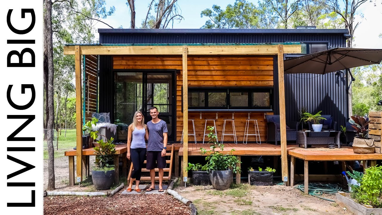 Stunning Modern Tiny House In Queensland Youtube