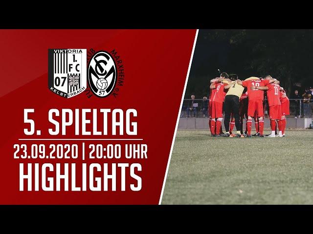 Viktoria Kelsterbach - FC Marxheim   Highlights   23.09.2020