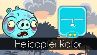 Bad Piggies - BONE HELICOPTER ROTOR (Hidden Loot Crates)