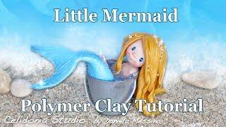 Polymer Clay Mermaid Tutorial - Easy