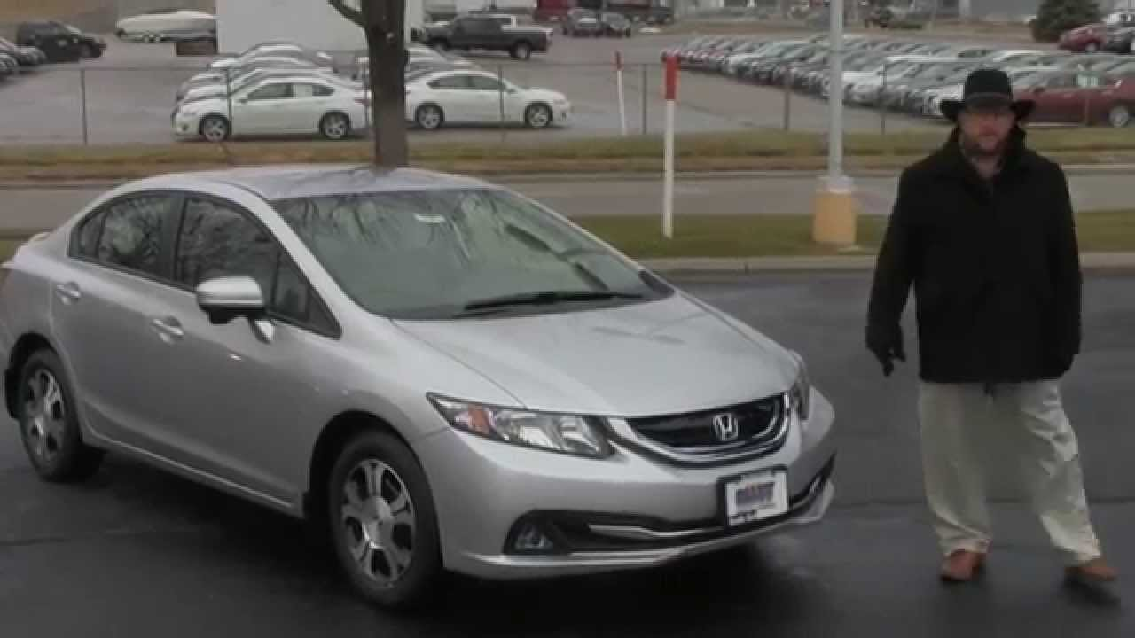 New 2015 Honda Civic Hybrid For Sale At Honda Cars Of Bellevue An