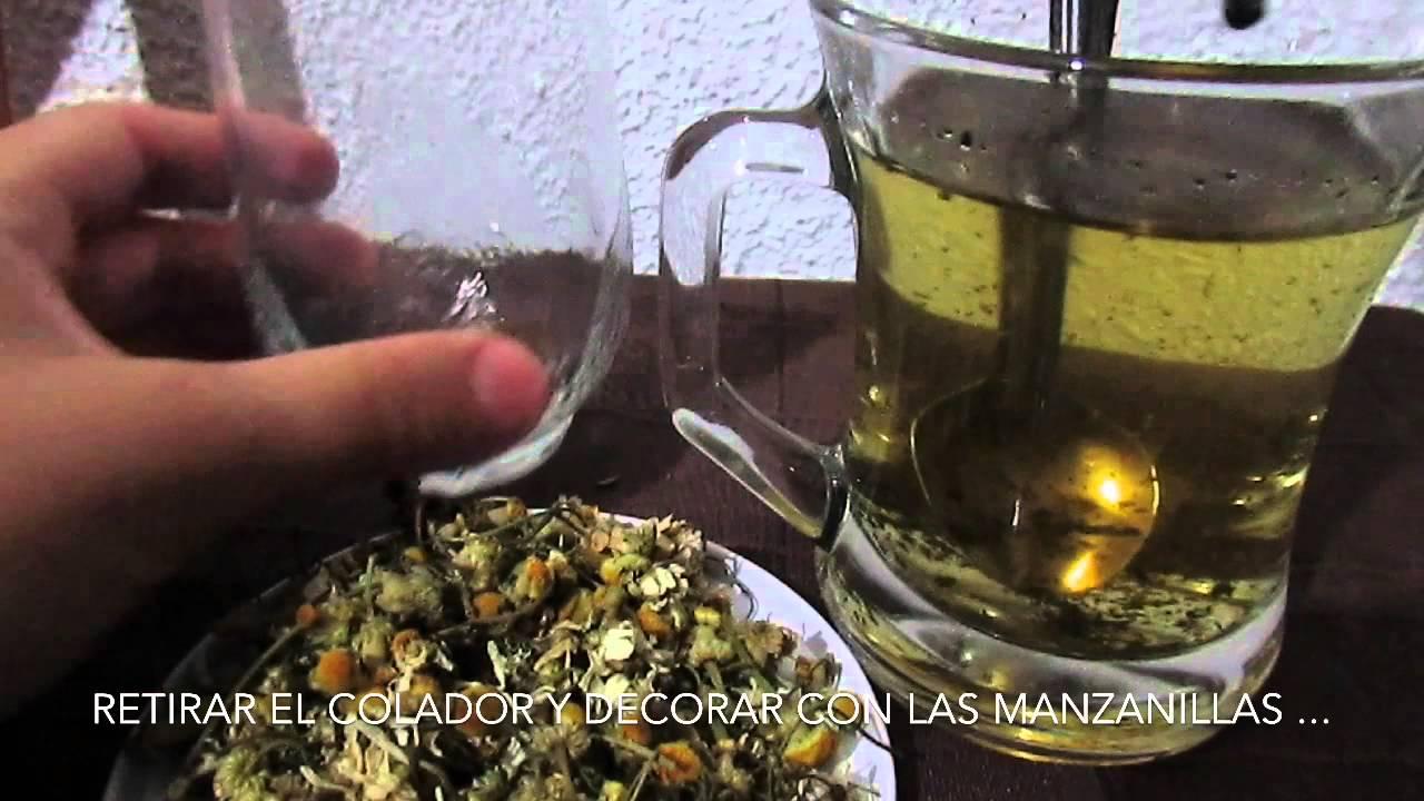 manzanilla con menta sirve para adelgazar