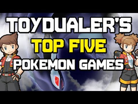 Download ToyDualer's Top 5 Favorite Pokemon Games!