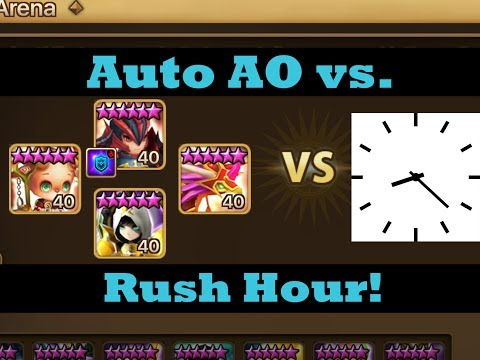 Auto AO versus Rush Hour!  Surely I can trust the AI to get me G1?