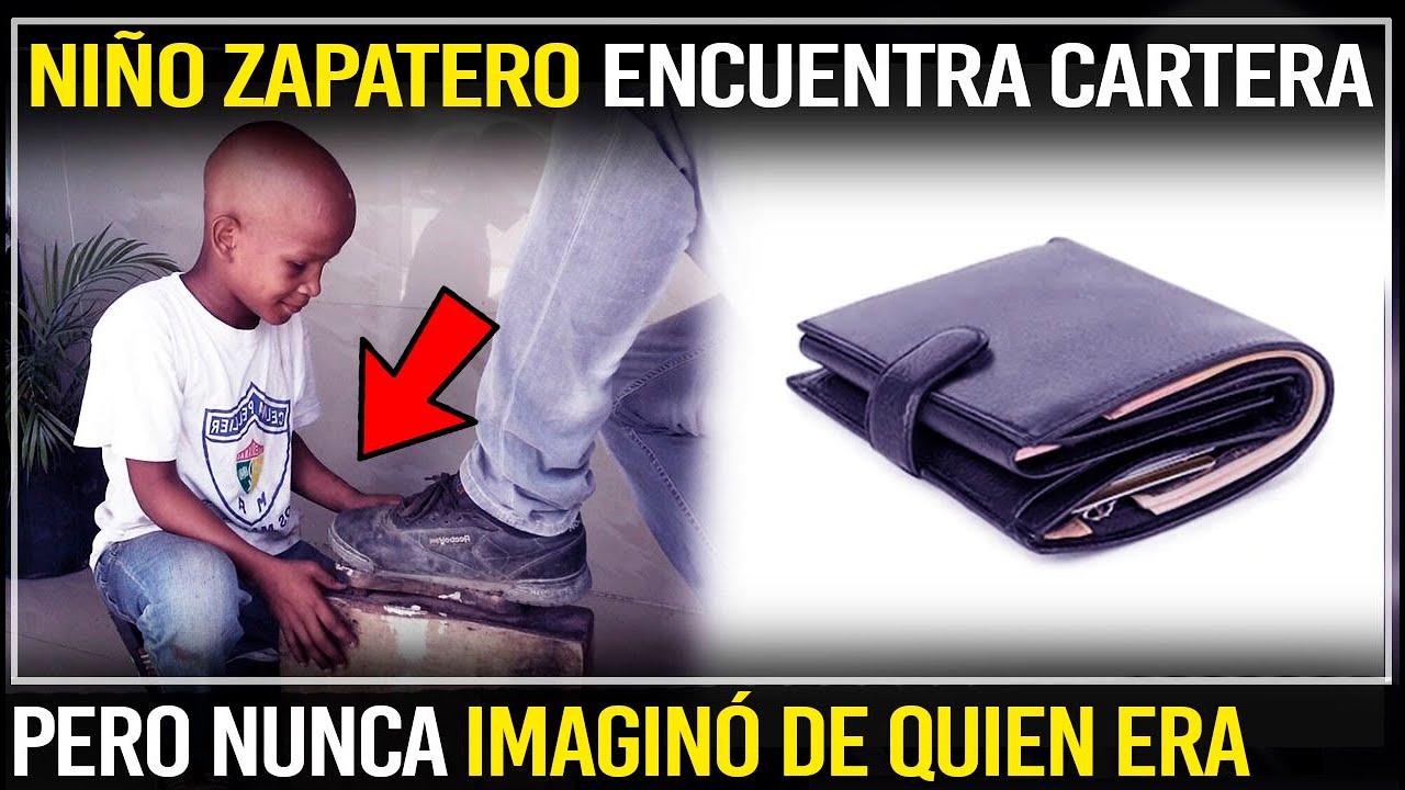 Niño Pobre Zapatero Encuentra Una Cartera Pero Nunca Se Imaginó De Quien Era