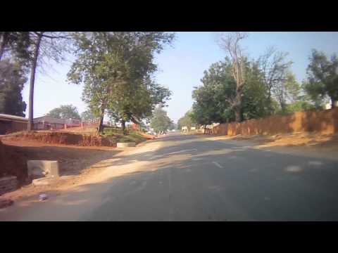 Road from the Nkhata Bay to Mzuzu, Malawi