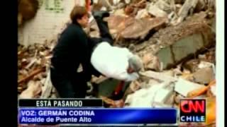 Presidente Sebastián Piñera sufrió caída en puente alto