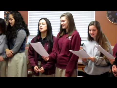 Galilean Christian Academy singing