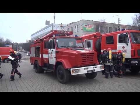 У ДСНС в Івано-Франківській області: Рятувальники проаели тактико-спеціальні навчання на об'єктах з масовим перебуванням людей