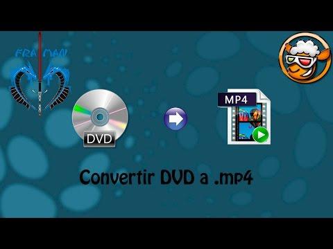 Convertir DVD a un archivo .mp4 [LINK MEGA]