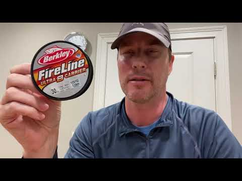 Knot Strength Test On 30lb Berkley's FireLine Ultra 8 Carrier Line