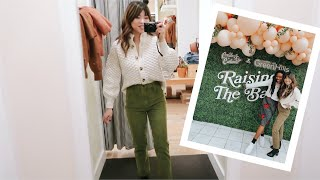 Create & Cultivate and Hosting a Madewell Event!!