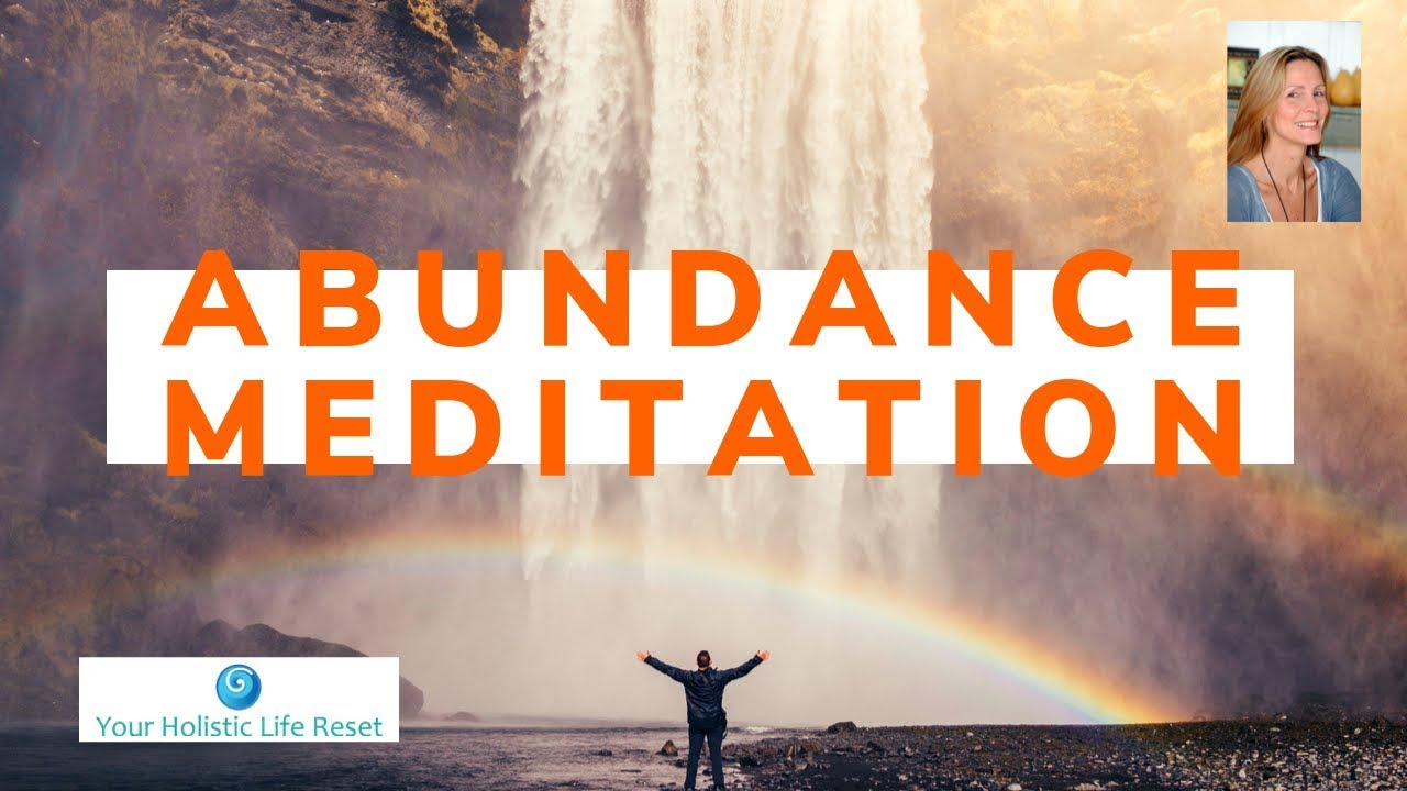 POWERFUL ABUNDANCE MEDITATION - YouTube