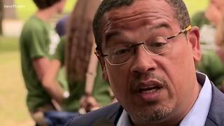 Rep. Keith Ellison addresses abuse accusations
