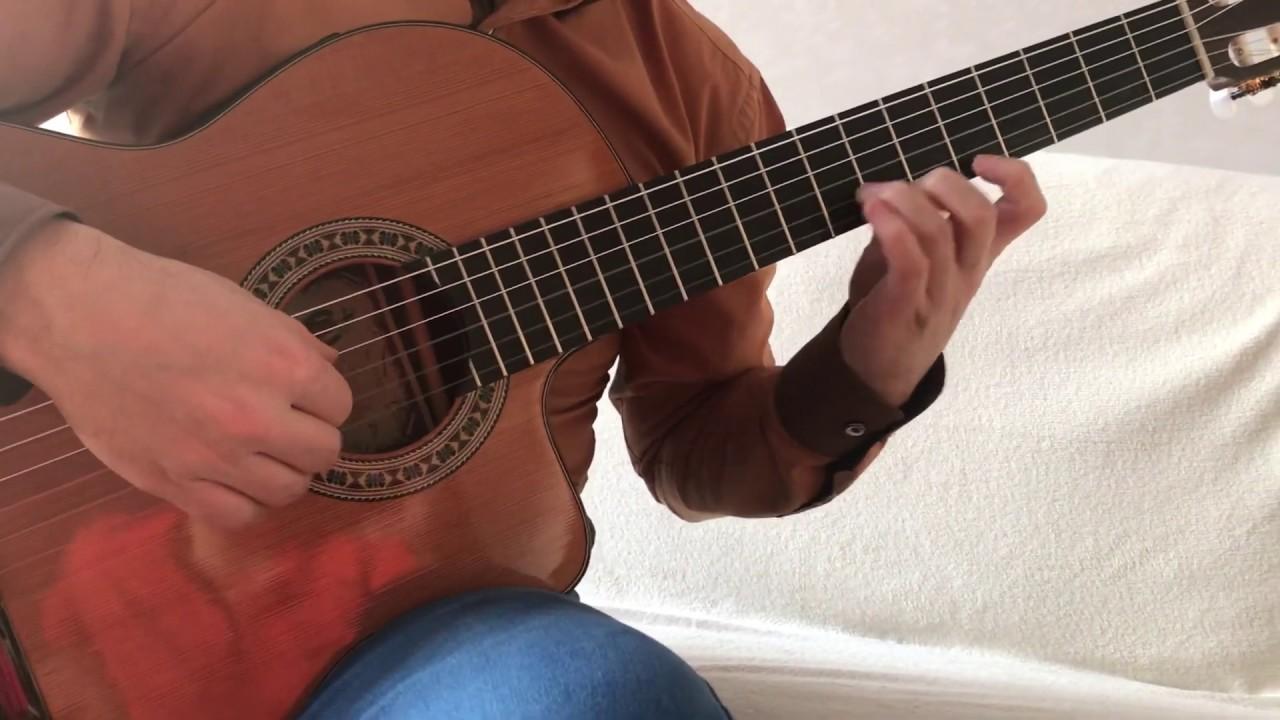 Десперадо на гитаре Cаncion del Мariaсhi (Desperado)