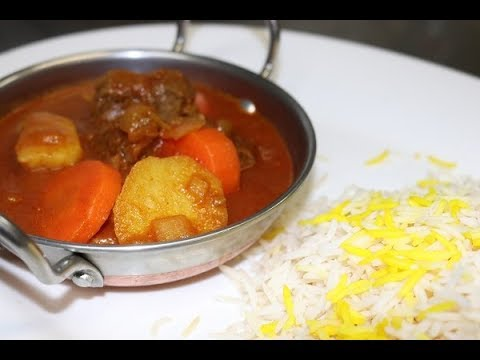How To Make Persian Tas Kabab (Beef Stew)
