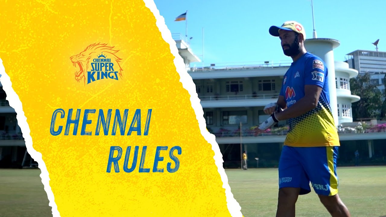 "Chennai Rules - Ft. Pujara - ""Fans come and support no matter what format it is"""